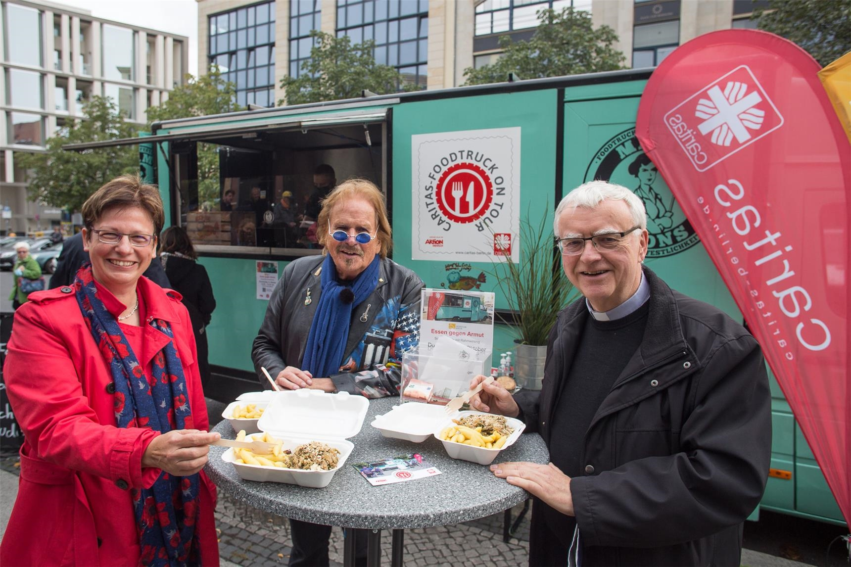 Spendenaktion Foodtruck