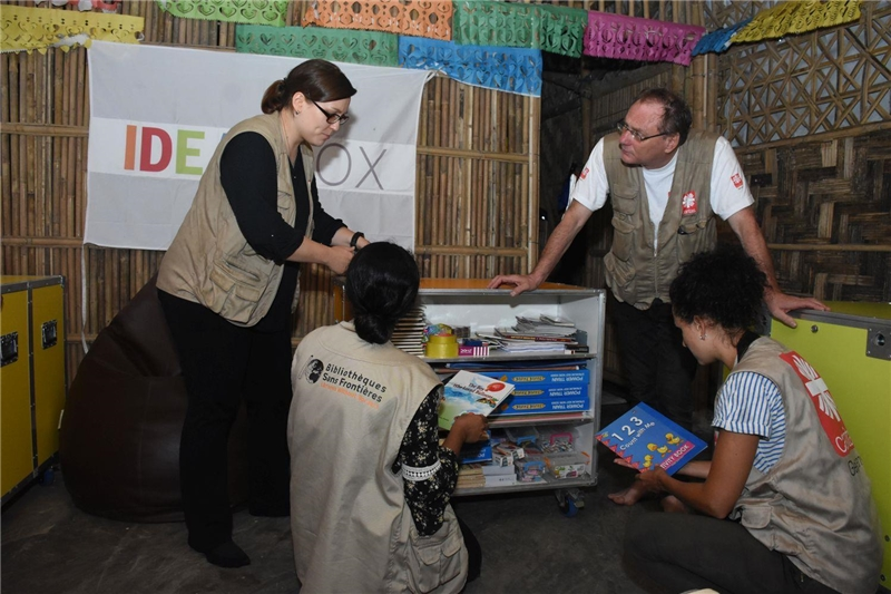 Ideasbox im Rohingyacamp