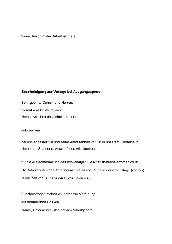 Betriebsvereinbarung Zur Einfuhrung Von Kurzarbeit 8