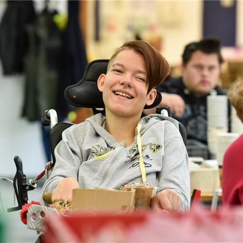 Menschen mit Behinderung - Wohnen, leben, arbeiten