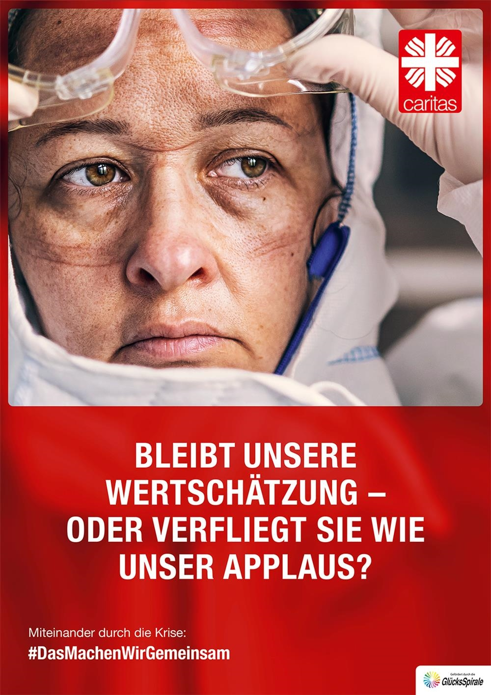 Plakat Applaus HF (Deutscher Caritasverband e. V.)