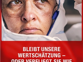 Plakat Applaus HF / Deutscher Caritasverband e. V.