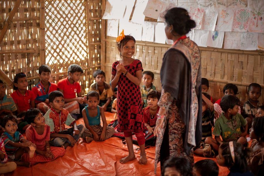 Rohingya: Child friendly Space (Foto: Ismail Ferdous)