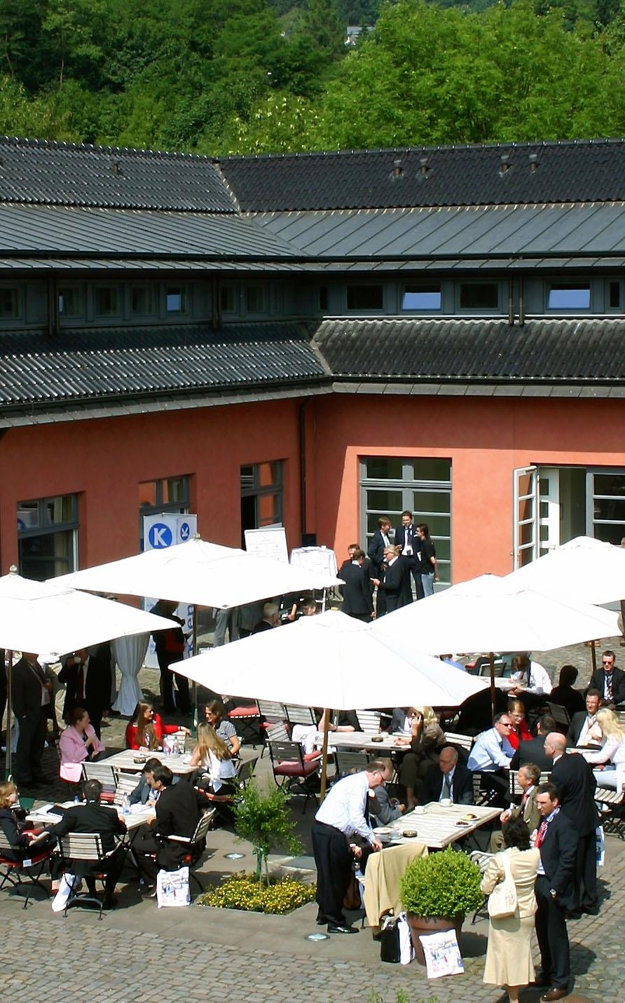 Terrasse Empfang