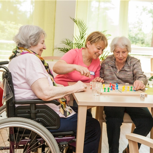 erwachsenen pflege tag senior