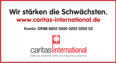 Freianzeigen Caritas international