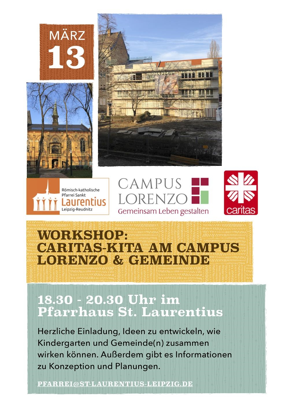 Workshop Kita Don Bosco und Gemeinde